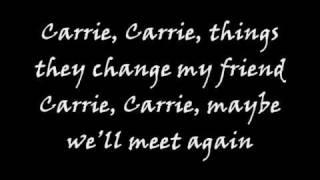 JOVIT BALDIVINO - CARRIE w lyrics