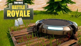 Fortnite - New Item: Launch Pad (Battle Royale)
