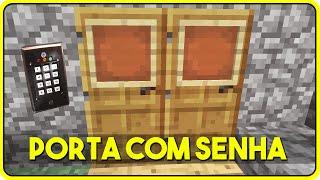 getlinkyoutube.com-Minecraft PE 0.13.1: COMO CONSTRUIR UMA PORTA COM SENHA