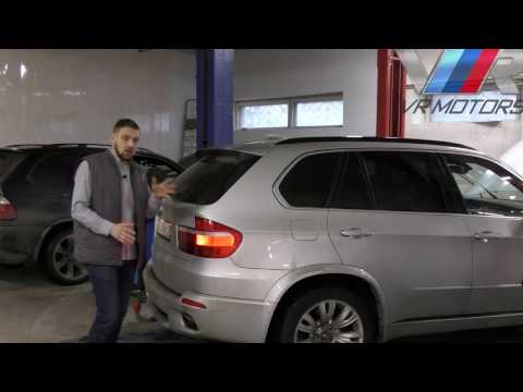 О задних фонарях на BMW X5