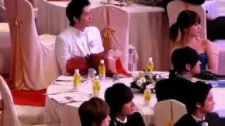 getlinkyoutube.com-ju ji hun & yoon eun hye watching snsd at 2009 Baeksang