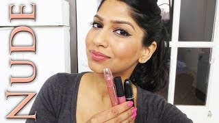 getlinkyoutube.com-My Top Nude/Neutral/Pink lipsticks for Brown/Indian/Olive skin!