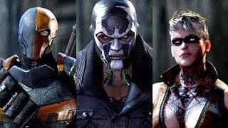 getlinkyoutube.com-Batman Arkham Origins All 8 Assassins FULL Boss Battle Fight - Gameplay