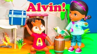getlinkyoutube.com-ALVIN AND THE CHIPMUNKS Nickelodeon Alvin Pranked DOC MCTSUFFINS  + Alvin Chipmunks Video Parody