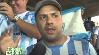 getlinkyoutube.com-Torcidas do LEC e Vila Nova fazem a festa juntos na final da Série C