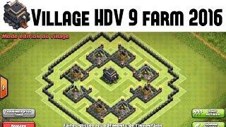 Village HDV 9 Farming pour 2016