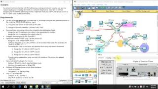 [CCNA S3] 9.3.1.4 Packet Tracer - Skills Integration Challenge