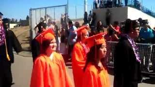 getlinkyoutube.com-Washington High School Graduation 2015 Entrance, Fremont CA