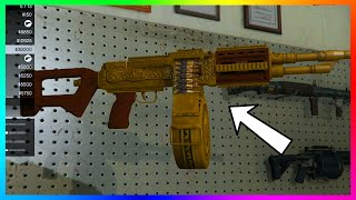 getlinkyoutube.com-GTA 5 DLC UPDATE - Secret Luxury Camos, Gun Engravings & NEW Weapons! (GTA 5 Lowriders)