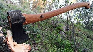 getlinkyoutube.com-Gransfors Bruks Scandanavian Forest Axe | Review