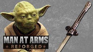 getlinkyoutube.com-Star Wars Lightsaber Katana - MAN AT ARMS: REFORGED