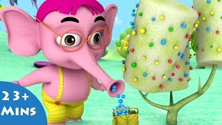 getlinkyoutube.com-Snoogle Berry Delight ✿ Bommi & Friends ✿ Chutti TV | Tamil Moral Stories For Kids |3D Animation