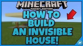 getlinkyoutube.com-Minecraft PE 0.16.0 HOW TO BUILD AN INVISIBLE HOUSE!