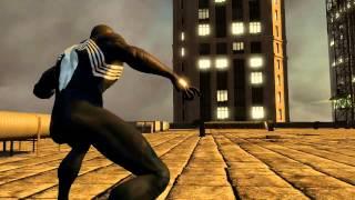getlinkyoutube.com-The Amazing Spider-Man 2 Video Game - Black suit Vs Green Goblin