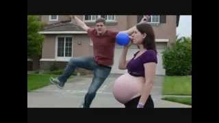 getlinkyoutube.com-Pregnancy Music Video ( pregnant balloon tummy )