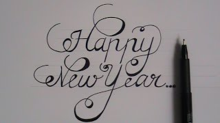 how to write fancy letters easy