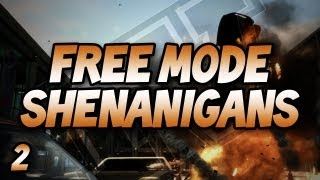 GTA IV Free Mode Shenanigans: w/ Gassy, Nanners, Goldy, & Diction #2