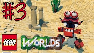 getlinkyoutube.com-Ethan plays LEGO Worlds (#3) - BURNARD! BAZOOKA!! | KID GAMING