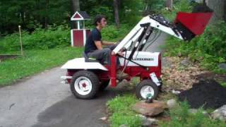 Gravely Loader First Day  on The Job