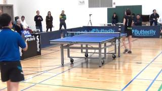 2014 Butterfly Cary Cup - Quarter Finals