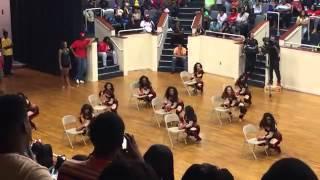 getlinkyoutube.com-Dancing Dolls vs YCDT Supastarz Slow Stand Battle ( Pt  1)