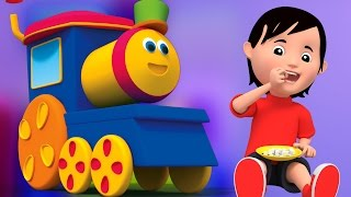 getlinkyoutube.com-Bob le train | Johny Johny oui papa | Comptines | Song For Kids | Kids Rhyme | Johny Johny Yes Papa