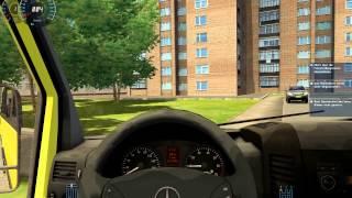 City Car Driving 1.2.5 Mercedes-Benz Sprinter 324 HD