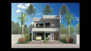 getlinkyoutube.com-Arquitetura - Projeto Residencial de 2 Pavimentos - Parte #2