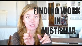 getlinkyoutube.com-HOW TO FIND WORK IN AUSTRALIA