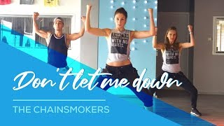 getlinkyoutube.com-The Chainsmokers - Don't let me down - Combat Fitness Dance  Choreography