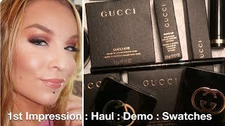 getlinkyoutube.com-Haul : Demo : Gucci Beauty / Makeup / Cosmetics