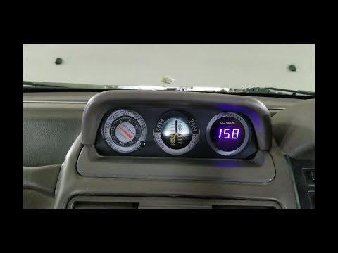 Замена штатного термометра на современный. Pajero 2