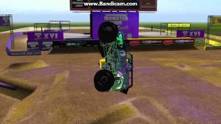 getlinkyoutube.com-Breakable Max-D and Grave Digger 20 carnage (bodys of everywhere lol) sim-monsters/ROR
