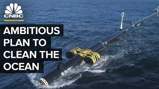 Ocean Cleanup Launched A Plastic Catcher width=