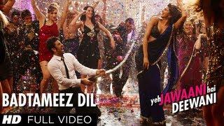 getlinkyoutube.com-Badtameez Dil Full Song HD Yeh Jawaani Hai Deewani | Ranbir Kapoor, Deepika Padukone
