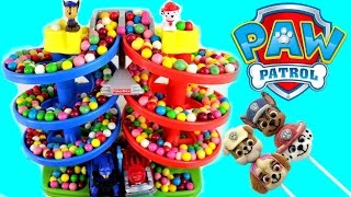 getlinkyoutube.com-Paw Patrol Best Baby Toy Learning Colors Video Gumballs Cars for Kids, Teach Toddlers, Preschool