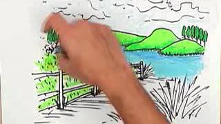 getlinkyoutube.com-สอนศิลป์ตอนที่162 มู่ลี่ก้อนเมฆ