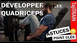 Les QUADRICEPS | ASTUCES width=