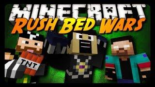 getlinkyoutube.com-Minecraft: RUSH PVP BED WARS! w/ AntVenom & Friends! (Mini-Game)