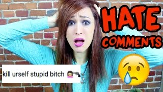 getlinkyoutube.com-I'm quitting YouTube - Reading Hate Comments