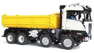 getlinkyoutube.com-LEGO Technic 8x8 Off Road Dump Truck