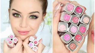 getlinkyoutube.com-First Impression & Swatches = Revlon Ultra HD Lipstick