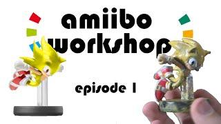 Amiibo Workshop:Super Sonic