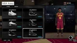 getlinkyoutube.com-UglyTV - How to NBA 2k15 myplayer Jordan Nike Adidas Contract , Badges , myPark news