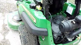 getlinkyoutube.com-2010 John Deere Z720A Zero Turn Commercial Mower Part 2