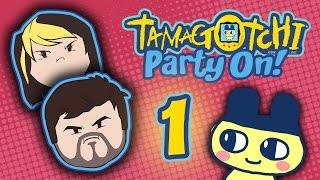 getlinkyoutube.com-Tamagotchi Party On!: Meme City - PART 1 - Grumpcade