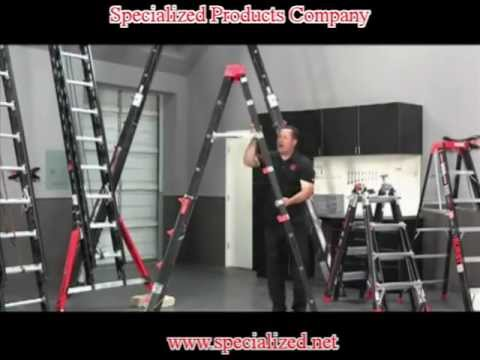 Little Giant Safety Ladder Overview