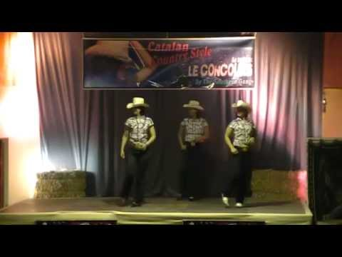 SHOT GUN GIRL - COUNTRY ADDICT - Concours de country Style Catalan - France