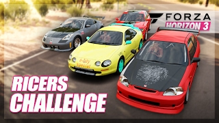 getlinkyoutube.com-Forza Horizon 3 - Rice Cars Challenge! (Build & Showdown)