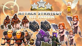 getlinkyoutube.com-Coc Th9 Attack Strategy 2016. Town Hall 9 Attack All Combo 3 Star Clash of Clans